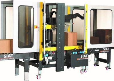 SIAT SM44 helautomatisk med flikvikare för olika kartongformat