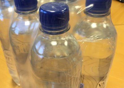 Polyeten (LD-PE) krympfilm enkelspolad