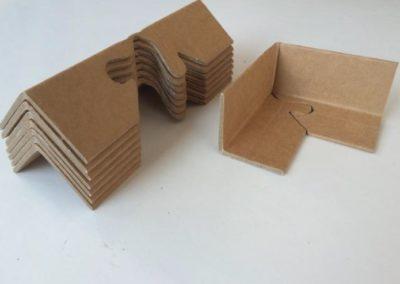 Hörnskydd av papp 50x50x3 mm, längd 200 mm
