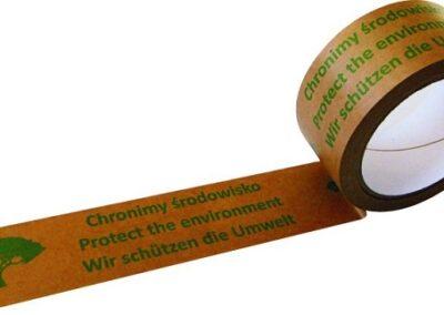 Trycktejp av miljövänlig papperstejp Nr 822